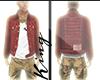 Red True Jacket