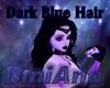 Dark Blue Long Hair