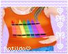 Orange Crayon Shirt