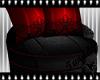 Dark Rouge Kiss Chair