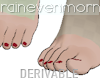Anime Feet Mesh