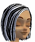 WhiteBlack Hair
