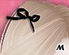 蝶 Cute Black Hair Bows