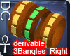 [DC] 3Bangles Right Der.