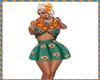 Aloha Skirt Teal