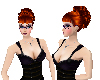 *SR* Red Imy updo