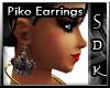 #SDK# PikoQueen Earrings