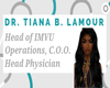 Dr. Tiana's Name Badge