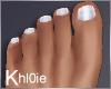 K holo toes flat feet