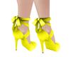 *HC* Yellow Green Shoes