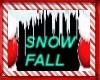 GLITTERY SNOW SNOWFALL