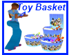 looney tune toy basket