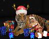 CHRISTMAS TIGER animated
