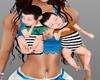 baby twins boy hold