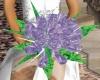 (AG) Purple WeddingBouqu