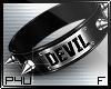-P- Devil Spike Collar F