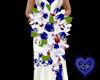 (CR) RWB Bridal Bouquet