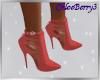 Gwenyth Heels Red
