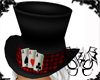 Mad Black Red Top Hat
