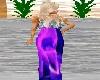 Flame Purple Dress