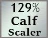 Scale Calf 129% M A