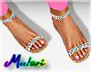 -M- Diamond Sandals