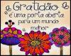 Banner Gratidão