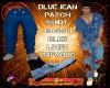 DM:BLUE DENIM JEANS-M