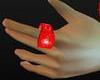 Red Gangsta Ring *KJ*