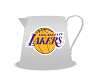 La Lakers flower vase