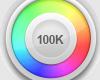 Sticker 100K