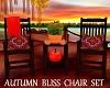 Autumn Bliss Chair Set