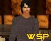 WSP Brown Aran Sweater