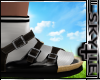 Sandle+Socks (brown )
