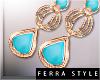 ~F~Pastila Earrings Mint