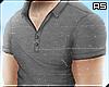 Grey Fit Cotton Shirt