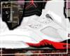 (e) Air-J 5s Red