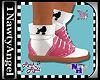(1NA) Saddle Shoes Pink