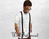 lWBl Black Suspenders