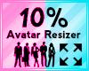 Avatar Scaler 10%