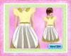 ~Vero~Apron Dress,Yellow