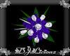 DJL-Bridal Bouquet PurpS