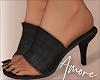 ! Black Faux Heels