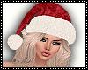 Xmas  Hat +Hair blond