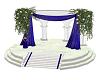 Wedding Platform Blue