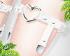 d. heart garters w