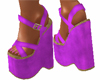 Purple Fucsia Wedge