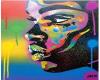 Art Colorful Face