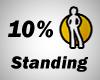 10% Standing Spot