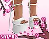Dancer Heels White
